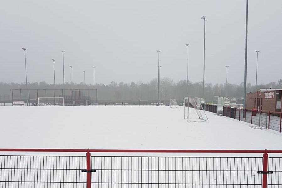 Trainingen afgelast in verband met winterweer