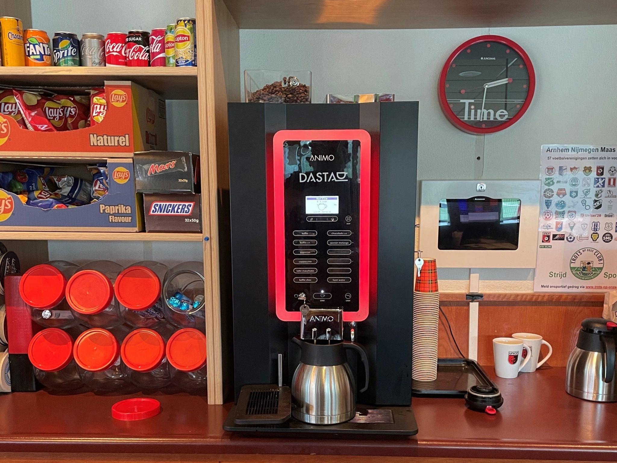 Lekkere koffie met dank aan Dasta