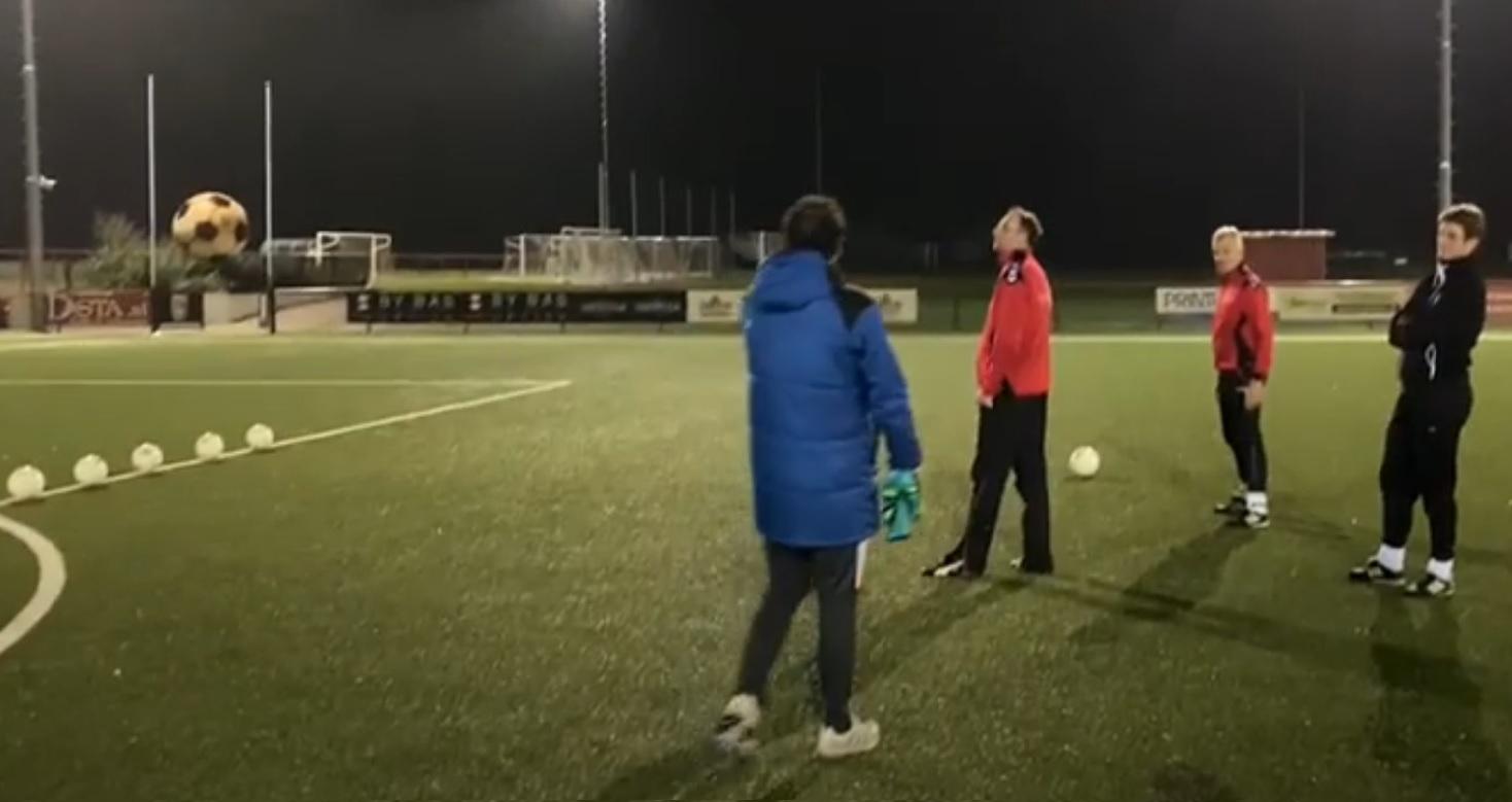 Training seniorenteams ligt weer even stil