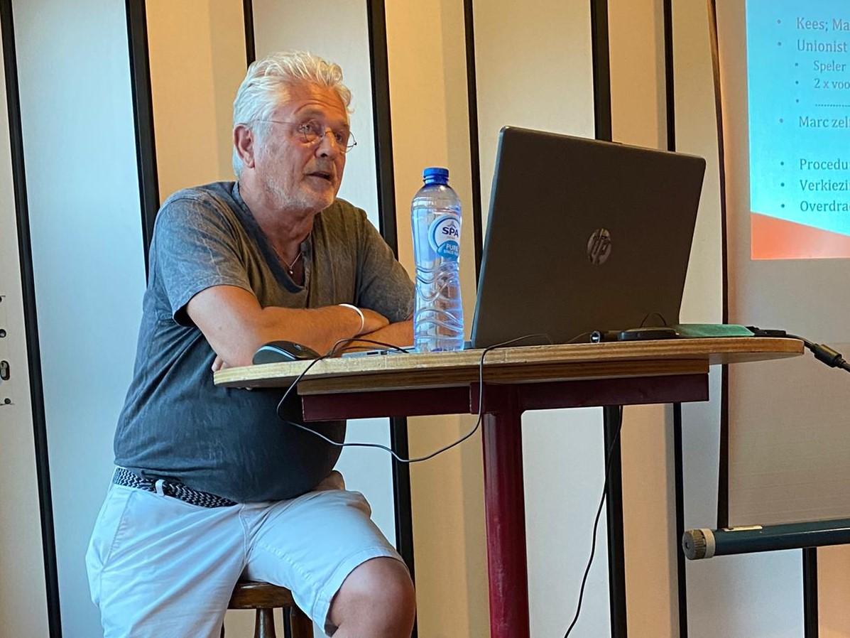 Marc Seveke tijdelijk voorzitter van VV Union