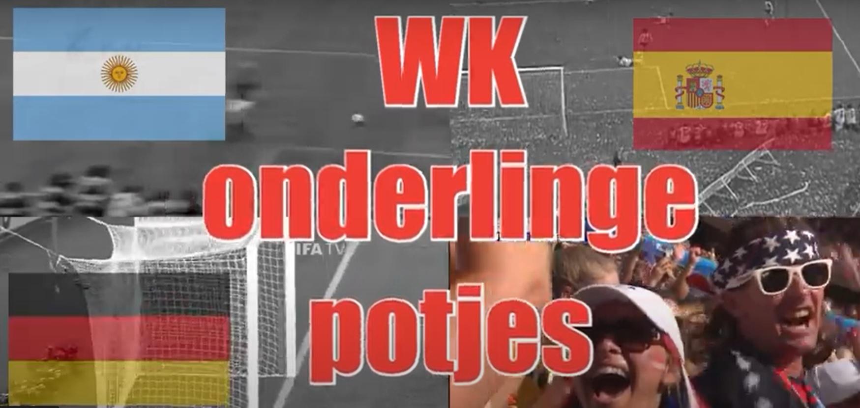 Schrijf geschiedenis tijdens het WK Onderlinge potjes
